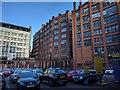 SJ8497 : Rear of buildings by Bob Harvey