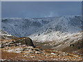 NY4409 : Snow on the Kentmere fells by Karl and Ali