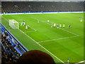 TQ2577 : Corner to The Posh at Stamford Bridge Stadium by Richard Humphrey