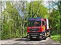 TQ0451 : Clandon Park - Fire & Rescue by Colin Smith