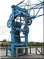 NZ2362 : Ship loading chute on Dunston Staiths by Graham Robson