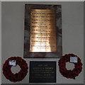 TM0287 : Quidenham War Memorials by Adrian S Pye