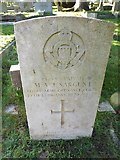 TQ3355 : Caterham Cemetery:CWGC grave (iii) by Basher Eyre