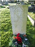 TQ3355 : Caterham Cemetery: CWGC grave (xi) by Basher Eyre
