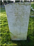 TQ3355 : Caterham Cemetery: CWGC grave (xv) by Basher Eyre