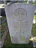 TQ3355 : Caterham Cemetery: CWGC grave (xvii) by Basher Eyre