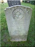 TQ3355 : Caterham Cemetery: grave of a guardsman (g) by Basher Eyre