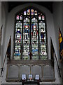 TF8208 : WW1 Memorial and window in Swaffham church by Adrian S Pye