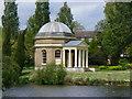 TQ1469 : Hampton - Garrick Temple by Colin Smith