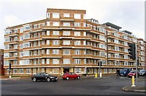 TQ2804 : Viceroy Lodge, Kingsway, Hove by Simon Carey