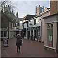 TL5480 : Ely: High Street Passage by John Sutton