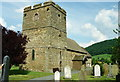 SO4381 : The Church of St John the Baptist, Stokesay by Jeff Buck