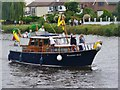 TQ0371 : Staines - Banana Boat by Colin Smith