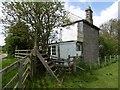 NU0321 : Former signal box, Roseden Crossing by Richard Webb