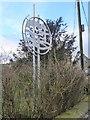 NY9913 : Village emblem in Bowes by Oliver Dixon