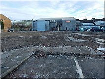NS3980 : Cleared site of Medical Centre by Lairich Rig