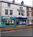 SJ2473 : Hays Travel shop, Flint by Jaggery