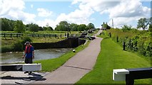 SP6989 : Foxton Locks by Peter Mackenzie