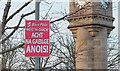 J5081 : Sinn Féin poster, Bangor by Rossographer