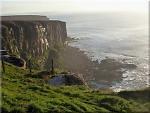 ND2076 : Dramatic cliff scenery, Dunnet Head by Rob Farrow