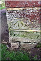 SP4824 : Benchmark on Oxford Canal Bridge 207 by Roger Templeman