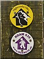 SU8836 : Hindhead - Waymarkers by Colin Smith