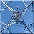 NS5010 : Up the pylon shot - Loopsheugh Rig by Richard Webb