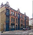 TQ3381 : Former warehouse, Tenter Ground, Spitalfields by Jim Osley
