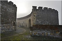 TR3752 : Deal Castle: The visitors' entrance by Michael Garlick