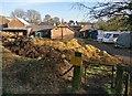 SK5600 : Farmyard at the Village Farm, Aylestone by Mat Fascione