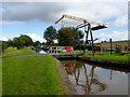 SJ5141 : Hassell's No 2 Lift Bridge near Whitchurch, Shropshire by Roger  Kidd