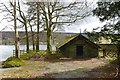 SD3197 : Boathouses at Kirby Quay by DS Pugh