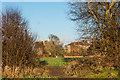 TR2741 : St Radegund's Abbey and St Radigund's Abbey Farmhouse by Ian Capper