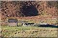 NT2949 : Brick shed and sheepfold, South Esk by Jim Barton
