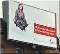 J3373 : Inland Revenue digital advertisement, Belfast (January 2017) by Albert Bridge