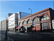 TQ3084 : Caledonian Road, N7, by Caledonian Road tube station by Mike Quinn