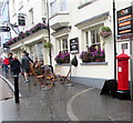 SN1300 : Victorian pillarbox in Tudor Square, Tenby by Jaggery
