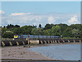SX9782 : High Speed Train north from Starcross by Stephen Craven