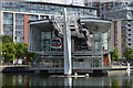 TQ4080 : Emirates Royal Docks Station by N Chadwick