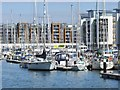 ST4776 : Portishead Marina by Colin Smith