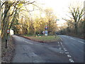 TQ4251 : Road junction at Limpsfield Chart by Malc McDonald