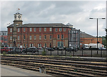 SK3635 : Derby: the remains of the loco works by John Sutton