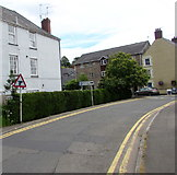 ST5394 : Warning sign near the eastern end of St Ann Street, Chepstow by Jaggery