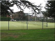 J3731 : Islands Park Tennis Courts by Eric Jones