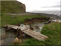 SS9168 : Footbridge over Stream by Alan Hughes