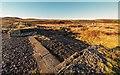 NH4848 : Weir Loch nam Bonnach by valenta