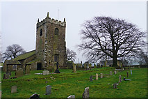 SD9350 : All Saints, Broughton with Elslack by Bill Boaden
