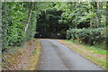 TQ3840 : Tandridge Border Path by N Chadwick