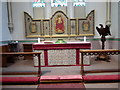 SU3645 : St Mary, Andover: main altar by Basher Eyre