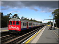 TQ0893 : Fast train arriving at Moor Park by Richard Vince